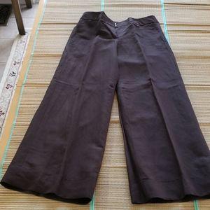 Women's Brown linen pants